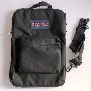 JANSPORT 2-in-1 laptop padded bag EUC